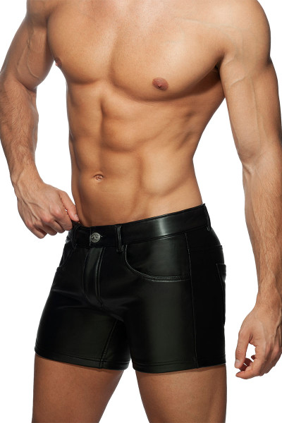 Addicted Fetish Shorts AD867 - Mens Shorts - Side View - Topdrawers Clothing for Men