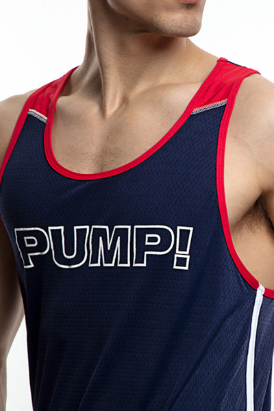 PUMP! Academy Tank 14015 - Mens Tank Tops - Front View - Topdrawers Clothing for Men
