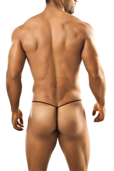 Joe Snyder G-String JS02-CPHM Coral Sport Mesh - Mens G-String Thongs - Rear View - Topdrawers Underwear for Men