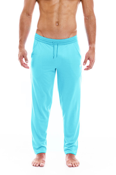 Modus Vivendi Peace Pants 04062-AQ Aqua - Mens Lounge Pants - Front View - Topdrawers Clothing for Men