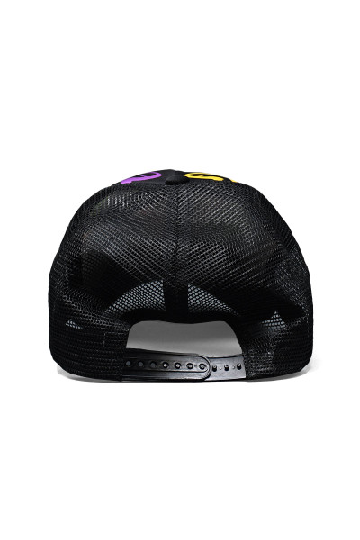 Andrew Christian Graffiti Heart Cap 8485 - Mens Caps - Rear View - Topdrawers Clothing for Men