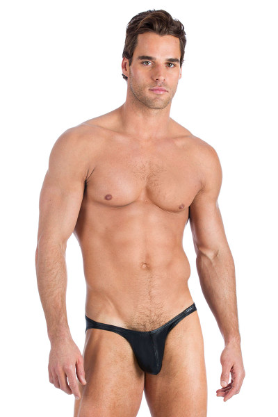 Gregg Homme Boytoy Brief 95003-BL Black - Mens Briefs - Front View - Topdrawers Underwear for Men