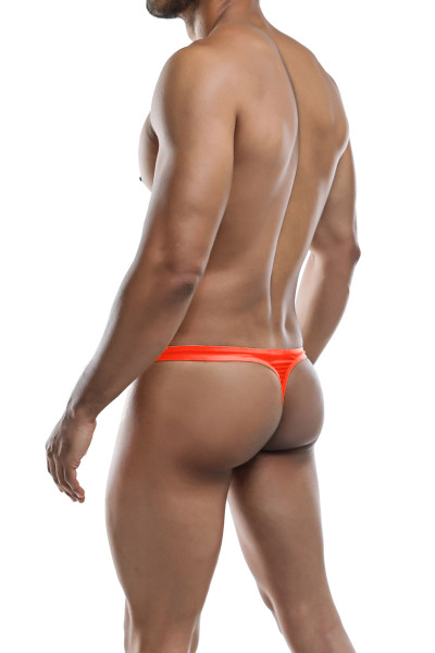 Joe Snyder Poly Thong JS03-WML Watermelon - Mens Thongs - Rear View - Topdrawers Underwear for Men