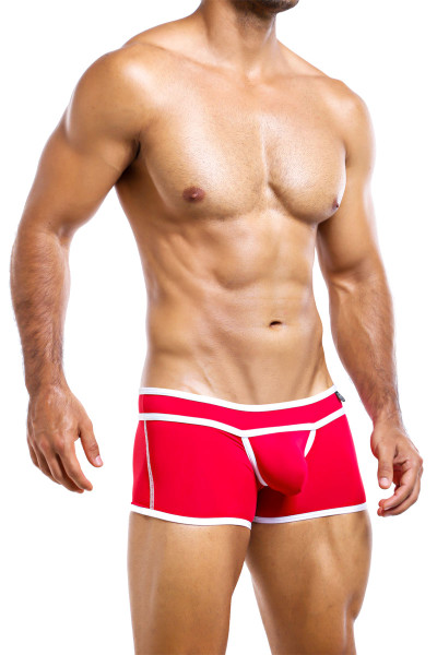 Intymen Boxer Trunk ING052-RD Red  - Mens Boxer Briefs - Side View - Topdrawers Underwear for Men