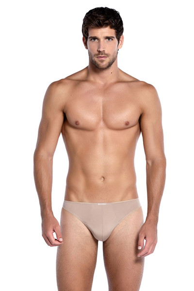 Punto Blanco Zensation Thong 5374610-869 Nude - Mens Thongs - Front View - Topdrawers Underwear for Men