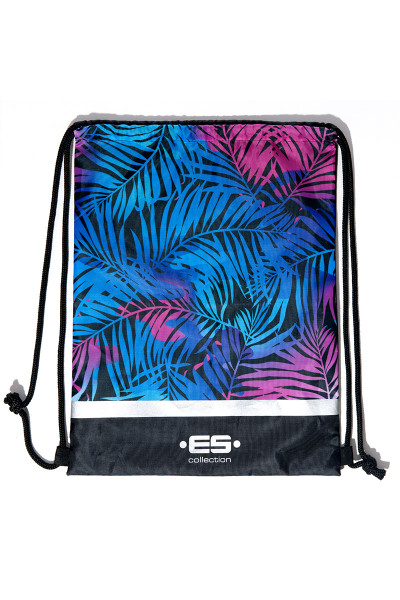 ES Collection Palms Reversible Backpack AC073 - Mens Bags - Garment View - Topdrawers Apparel for Men