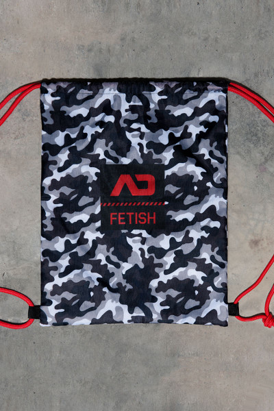 Addicted Fetish Camo Reversible Backpack ADF90 - Mens Bags - Garment View - Topdrawers Apparel for Men
