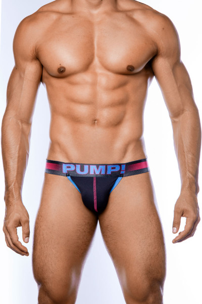 PUMP! PLAY Fuchsia Jockstrap 15054 - Mens Jockstraps - Front View - Topdrawers Underwear for Men