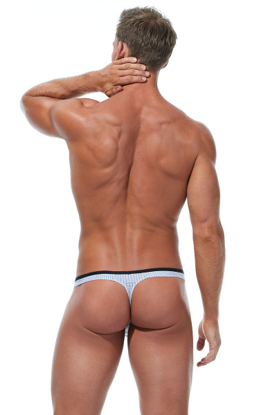 Gregg Homme Feel It Thong 172804-OR Orange - Mens Thongs - Rear View - Topdrawers Underwear for Men