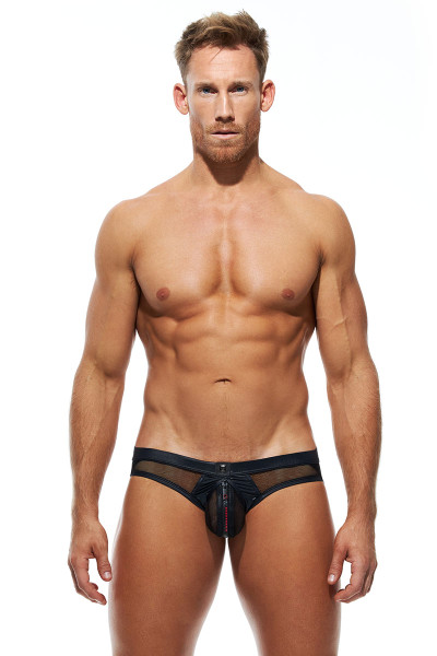 Gregg Homme Unlocked Jock 180234-RD Red - Mens Jockstraps - Front View - Topdrawers Underwear for Men