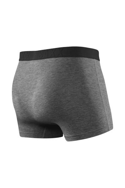 Saxx Vibe Trunk | Salt & Pepper SXTM35-SAP - Mens Boxer Briefs - Rear View - Topdrawers Underwear for Men