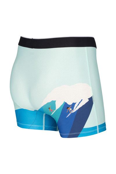 Saxx Volt Boxer Brief | Riding Giants SXBB29-RDG - Mens Boxer Briefs - Rear View - Topdrawers Underwear for Men