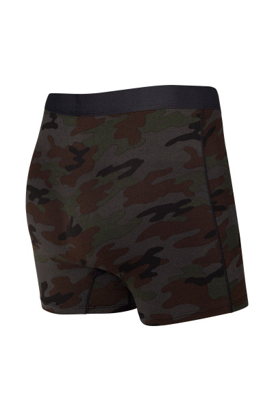 Saxx Daytripper Boxer Brief w/ Fly | Black Ops Camo SXBB11F-OCB - Mens Boxer Briefs - Rear View - Topdrawers Underwear for Men