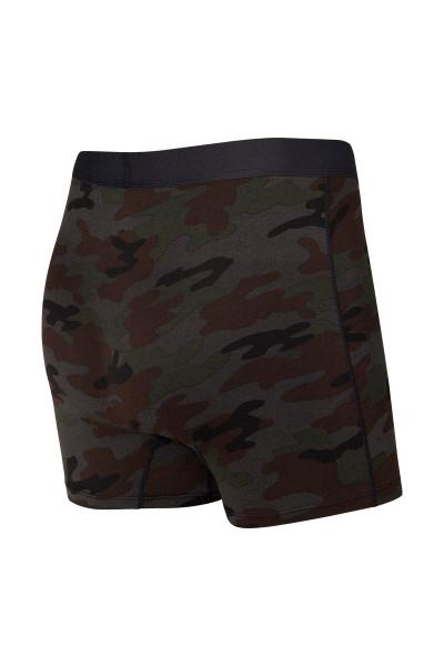 Saxx Daytripper Boxer Brief w/ Fly | Black Ops Camo SXBB11F-OCB - Mens Boxer Briefs - Rear View - Topdrawers Underwear for Men