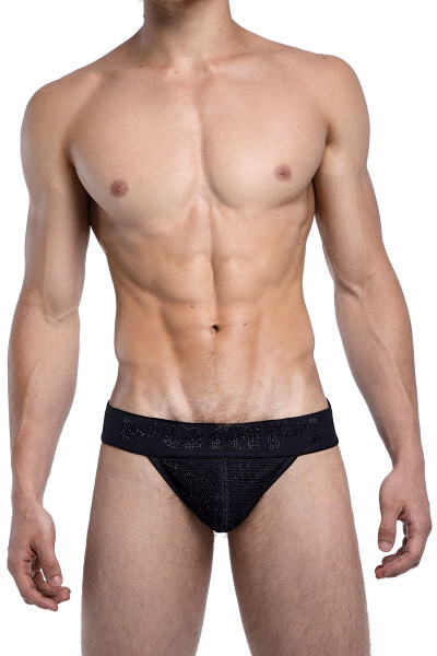 PUMP! Switch Side Cut Brief 12052 - Mens Tanga Briefs - Front View - Topdrawers Underwear for Men