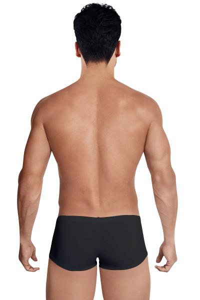 Clever Austrian Latin Boxer 2373-11 Black - Mens Boxer Briefs - Rear View - Topdrawers Underwear for Men