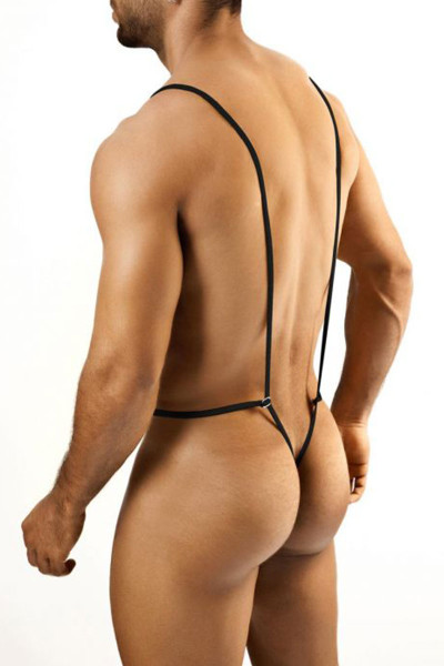 Joe Snyder Body String JS27-LEO - Mens Body Suits - Rear View - Topdrawers Underwear for Men