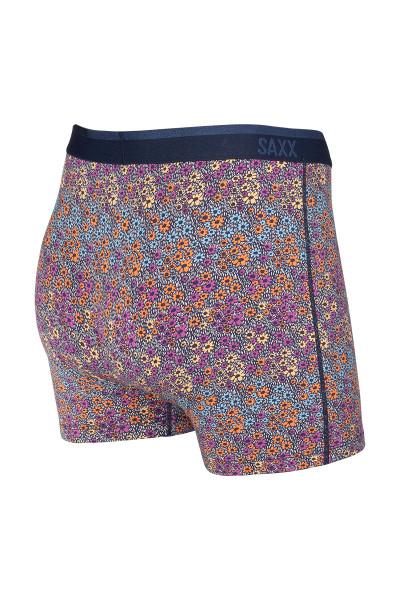 Saxx Platinum Boxer Brief w/ Fly | Multi Field Flowers SXBB42F-FWM - Mens Boxer Briefs - Rear View - Topdrawers Underwear for Men
