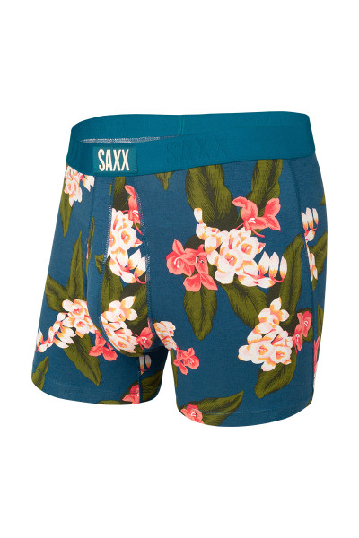 Saxx Ultra Boxer Brief w/ Fly | Teal Orchid SXBB30F-OET - Mens Boxer Briefs - Front View - Topdrawers Underwear for Men