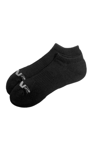 C-IN2 Core No Show Socks 2000S-001 Black - Mens Socks - Front View - Topdrawers Underwear for Men