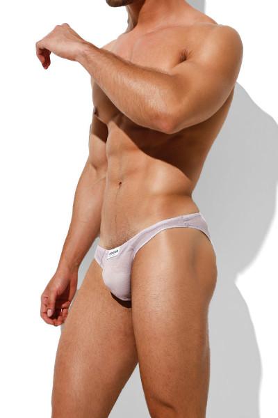 Intymen Azurro Bikini INI031-LIL Lilac - Mens Briefs - Side View - Topdrawers Underwear for Men