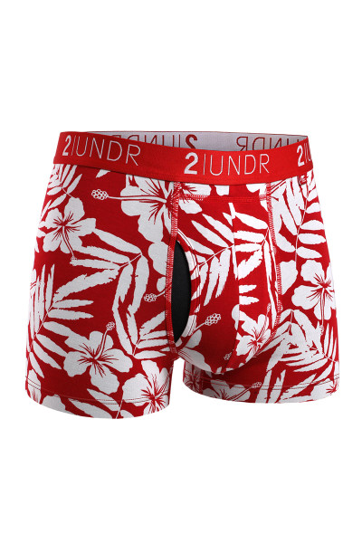 2UNDR Swing Shift Trunk | Aloha 2U01TR-203 - Mens Boxer Briefs - Front View - Topdrawers Underwear for Men