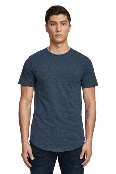 Kuwalla Tee Eazy Scoop Tee KUL-CT1851-NVY Navy Blue - Mens T-Shirts - Front View - Topdrawers Clothing for Men