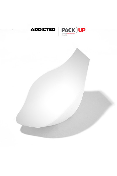 Addicted Pack Up AC004-01 White - Mens Shapewear - Front View - Topdrawers Underwear for Men