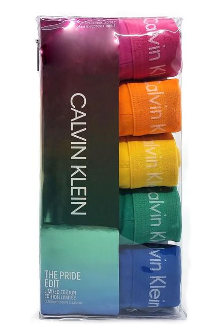 9b4afb904eea80 Calvin Klein 5-Pack Low Rise Trunk The Pride Edit NB1348G-969 | Mens ...