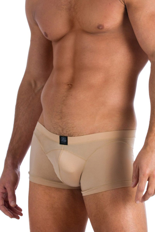 Gregg Homme Underwear Nude Scene Boxer Brief Tan 95505 from Topdrawers Menswear - Close View 2