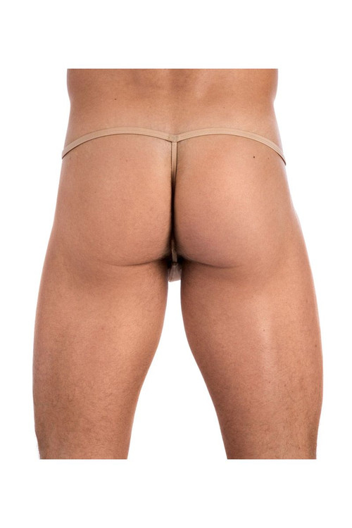 Gregg Homme Underwear Nude Scene G-String Tan 95514 from Topdrawers Menswear - Back View