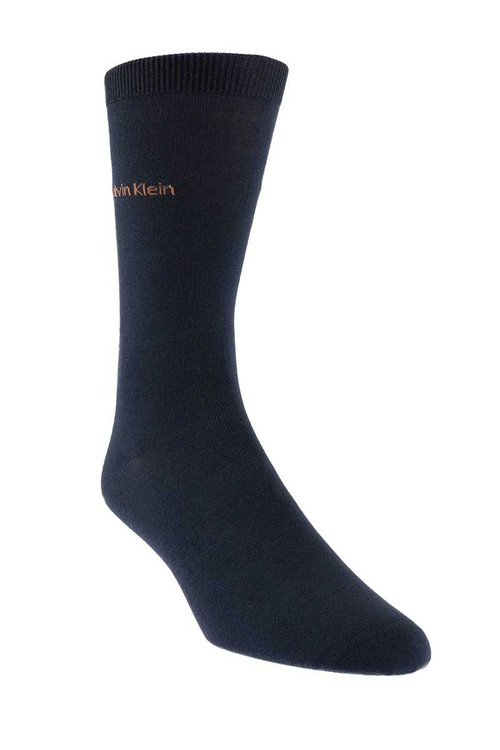 KN2 - Calvin Klein Giza Cotton Flat Knit Sock MCL117 from Topdrawers Menswear
