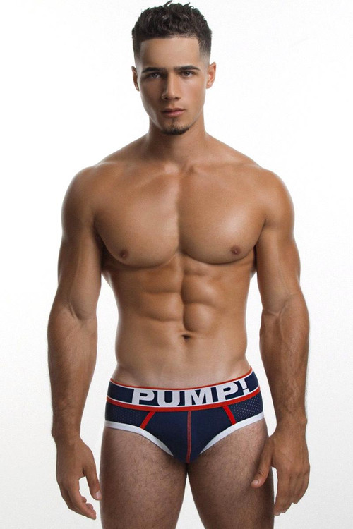 PUMP! Big League Brief 12033 Front View - Topdrawers Underwear for Men
