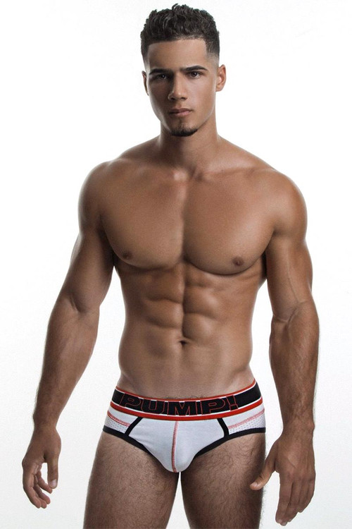 PUMP! Reflex Brief 12036 Front View - Topdrawers Underwear for Men