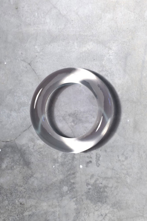 Clear - Addicted Fetish Silicone Cockring AC054 - Topdrawers Menswear