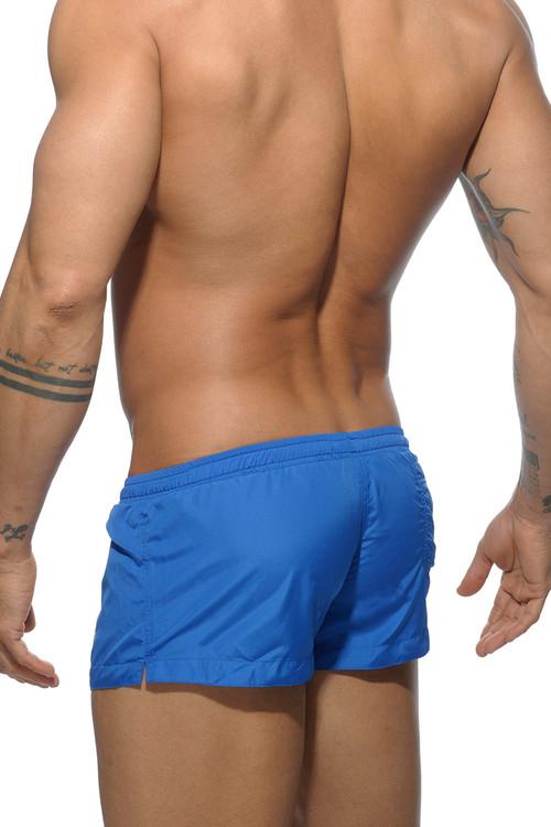 16 Royal Blue - Addicted Basic Mini Swim Short ADS111 - Rear View - Topdrawers Swimwear for Men