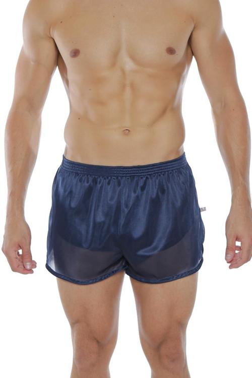 Navy - Go Softwear AJ Training Short 8740 - Front View - Topdrawers Menswear