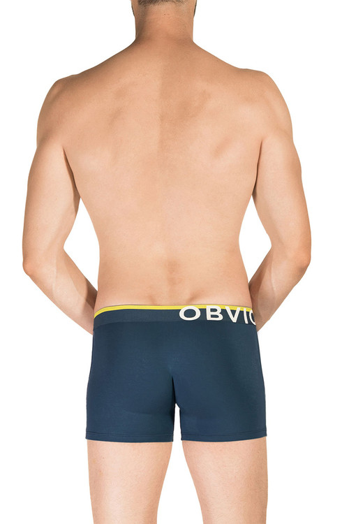 1H Nautical - Obviously EveryMan Boxer Brief 3 Inch Leg B00 - Rear View - Topdrawers Underwear for Men