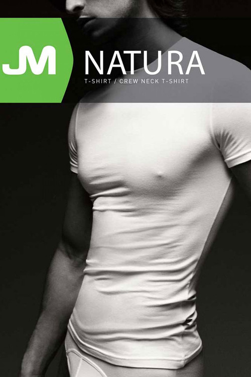 JM NATURA Crew Neck T-Shirt 90381 - Topdrawers Underwear for Men