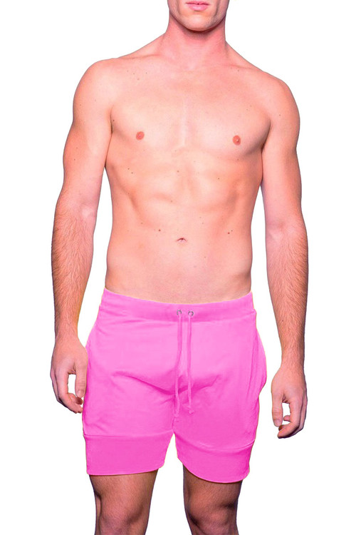 Deep Pink - Go Softwear Cal Guy Dock Short 4661 - Front View - Topdrawers Menswear