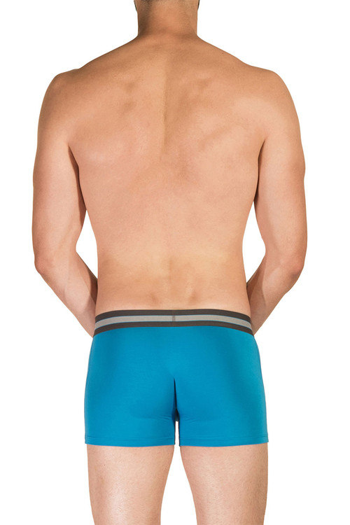1F Bondi - Obviously EveryMan Boxer Brief 3 Inch Leg B00 - Rear View - Topdrawers Underwear for Men