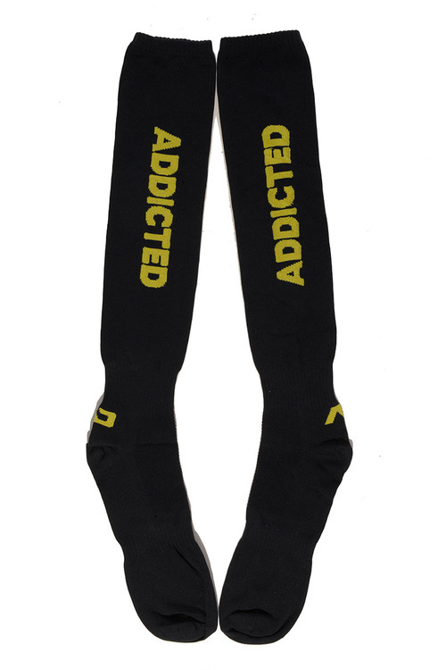 03 Yellow - Addicted Fetish Addicted Socks AD381 - Topdrawers Menswear