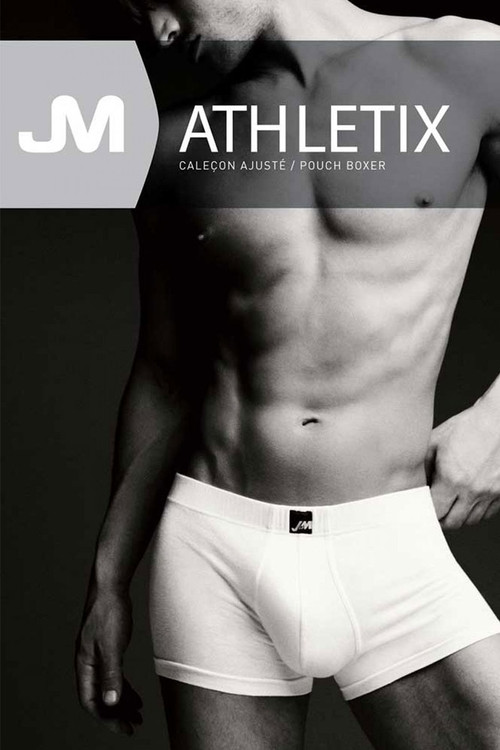 JM Athletix Pouch Boxer 04047 - Front View - Topdrawers Underwear for Men