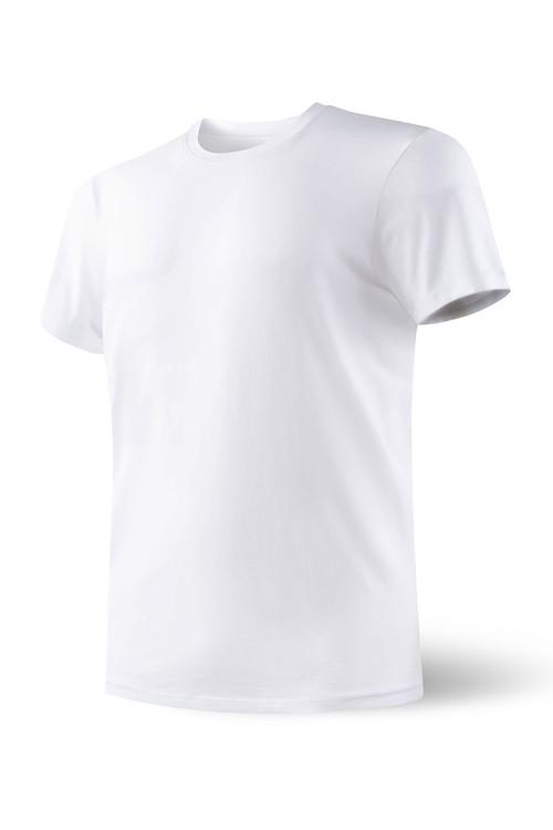 WHT White - Saxx Undercover S/S Crew SXTC19 - Front View - Topdrawers Underwear for Men