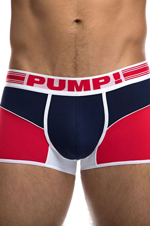 PUMP! Academy Free-Fit Boxer 11074 - Front View - Topdrawers Underwear for Men