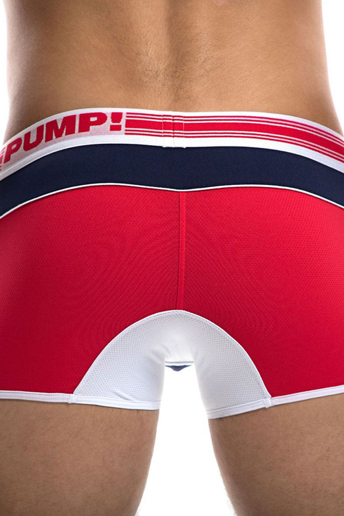 PUMP! Academy Free-Fit Boxer 11074 - Rear View - Topdrawers Underwear for Men