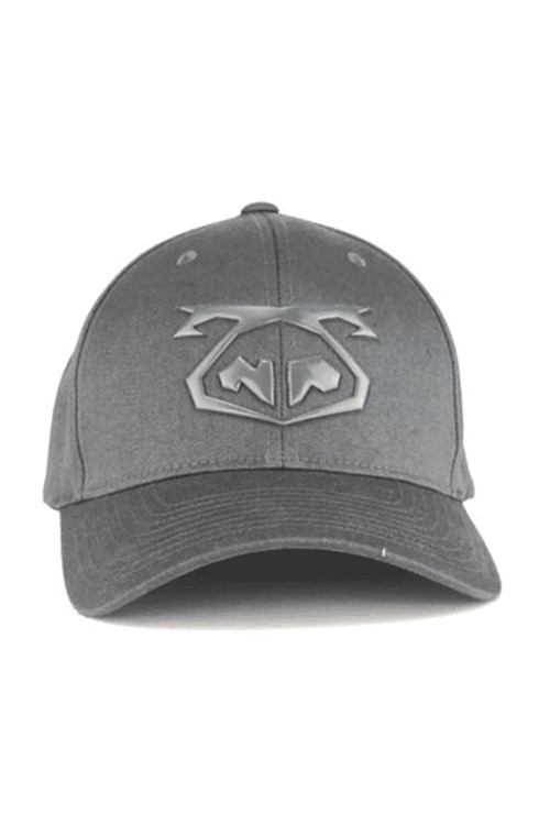 Grey - Nasty Pig Snout Cap 8143 - Front View - Topdrawers Underwear for Men