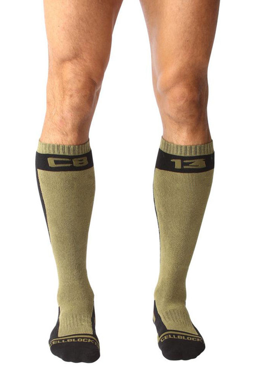 CellBlock 13 Full Throttle Knee High Sock A056-AR