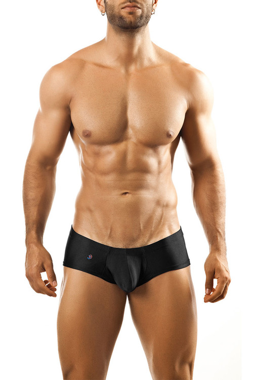 Black - Joe Snyder Bulge Boxer JSBUL-03 - Front View - Topdrawers Underwear for Men
