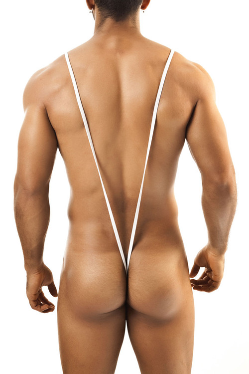 White - Joe Snyder Body String JS27 - Rear View - Topdrawers Underwear for Men